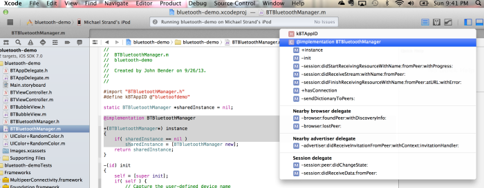 Breaking Down Bluetooth in Objective-C and iOS7